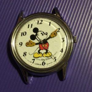 Vintage Mickey Mouse Walt Disney Company watch
